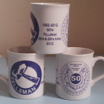 50th Anniversary Mugs £5.50