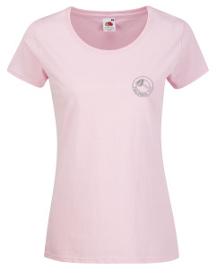 Short sleeved T-shirt (pink) £12.Also available in black, royal blue, charcoal grey, fuschia, bottle green, navy blue, orange, purple, red, white and yellow. Other colours available on request.