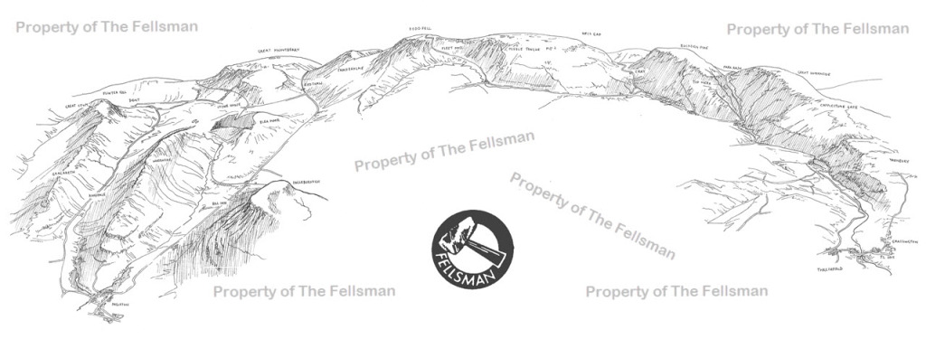 The Fellsman route by Jon Laye More information coming soon